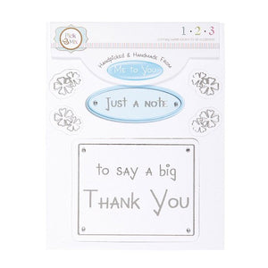 Me To You Handmade Toppers – Thank You
