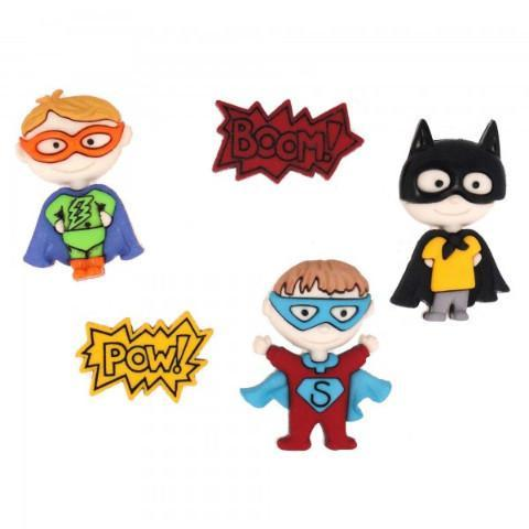 Be My Super Hero - Dress It Up Button by Jesse James