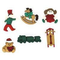 Christmas Toys - Dress it Up Buttons by Jesse James