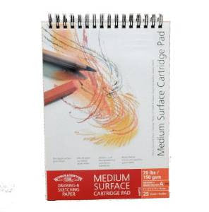Winsor & Newton Medium Surface Cartridge Pad 150 gsm A4