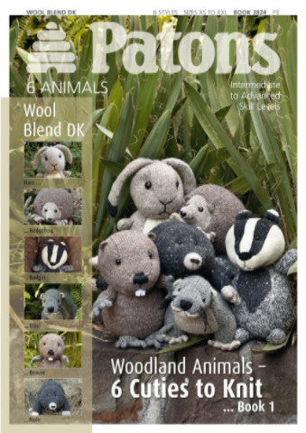 Woodland Animals 1 - Patons Pattern Book 3824