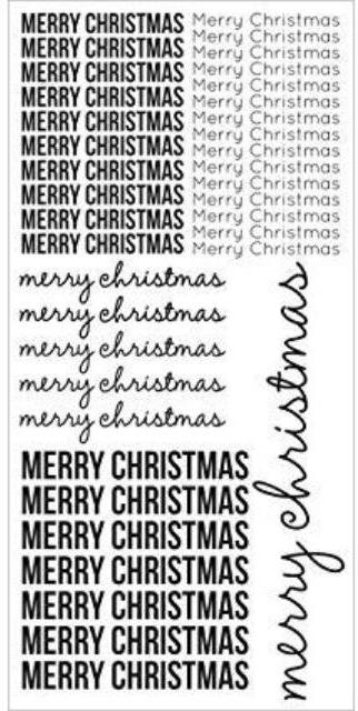 Clear Christmas Stickers by Kaisercraft