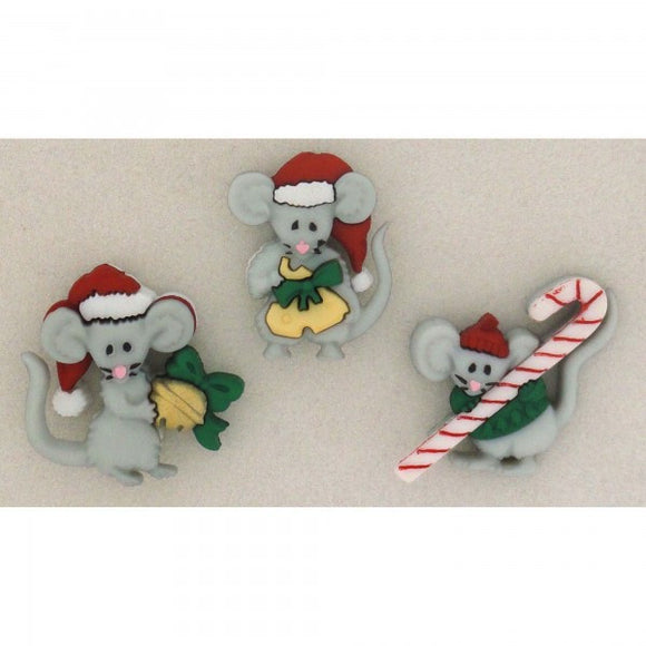Not A Creature Was Stirring - Dress It Up Buttons by Jesse James