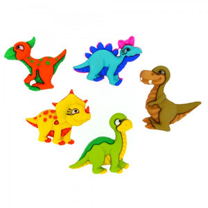 Dress It Up Buttons by Jesse James - Dino Mite