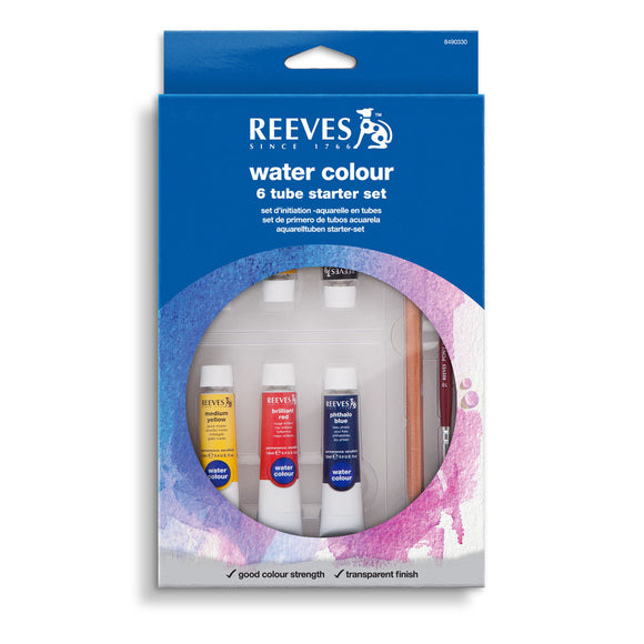 Reeves Watercolour 6 Tube Starter Set