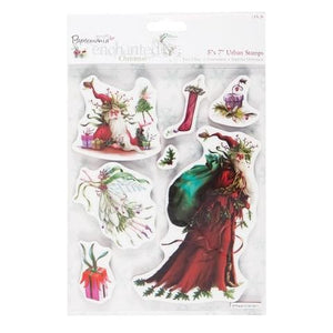 Papermania Enchanted Christmas Urban Stamps