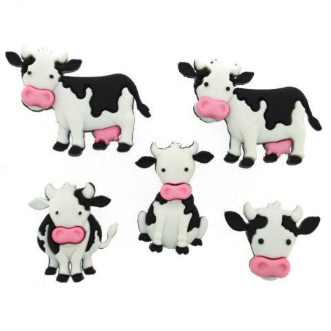 Mooove It! - Dress It Up Buttons by Jesse James