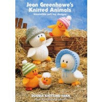 Jean Greenhowe's Knitted Animals 904 - Knitting Pattern - DK