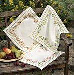 Idena by Anchor Freestyle Embroidery Kit - Pears Placemat