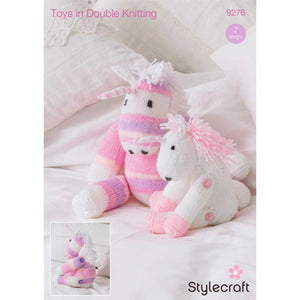 Knitted Unicorn - Stylecraft Pattern 9276