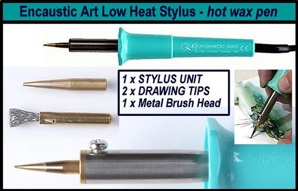 Encaustic Art Stylus for use with wax