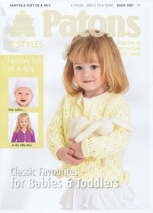 Classic Favourites - Patons Knitting Pattern Book 3851