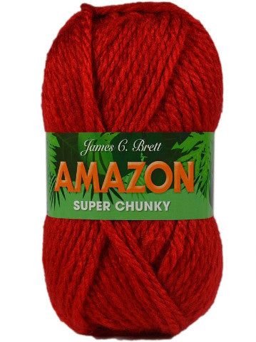 Amazon Super Chunky Yarn by James C Brett