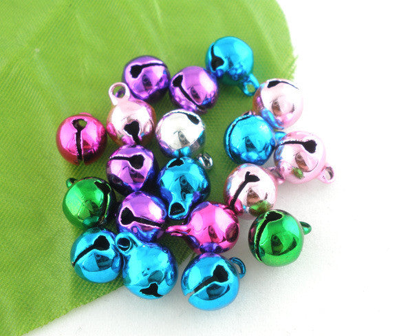 Shiny Bells Spacer Bead 8mm