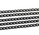 Aluminium Link Open Curb Chain 6 X 3.5 mm