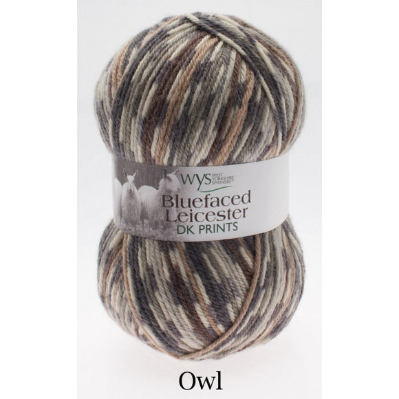 West Yorkshire Spinners: Bluefaced Leicester DK Prints