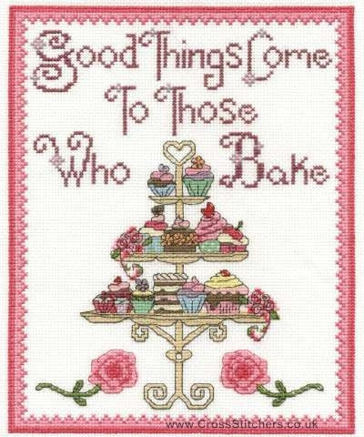 DMC - Good Things Come to Those Who Bake Cross Stitch Kit - BK1667