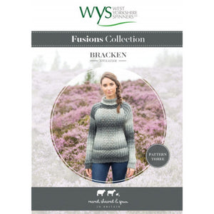 Ladies Bracken Sweater Pattern - West Yorkshire Spinners Fusions Collection