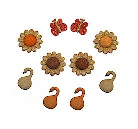 Golden Harvest - Dress It Up Buttons by Jesse James