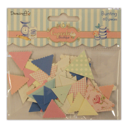 Dovecraft Cupcake Boutique Die Cut Bunting
