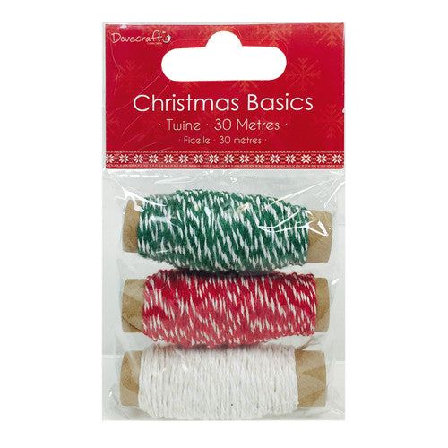Dovecraft Christmas Basics Twine