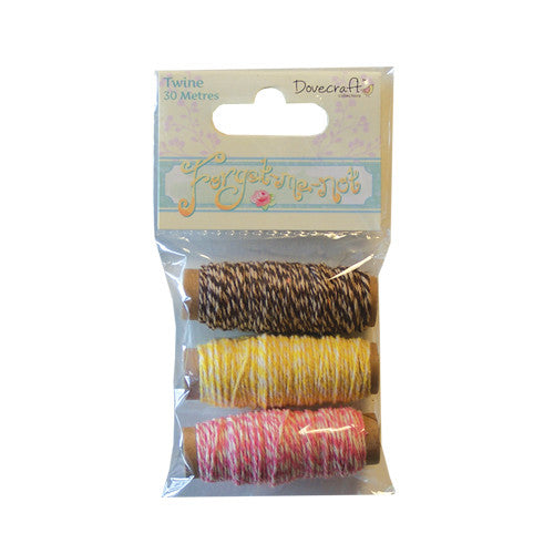 Dovecraft Forget Me Not Twine Spool