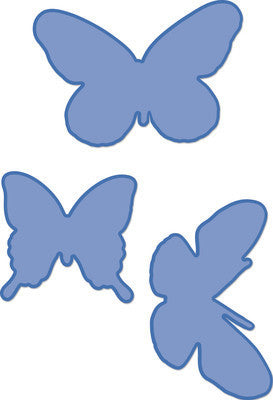 Butterflies Decorative Dies by Kaisercraft