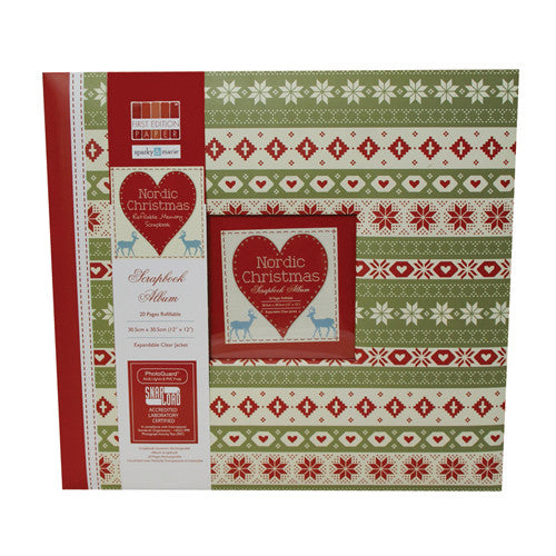 First Edition Nordic Christmas Scrapbook Album