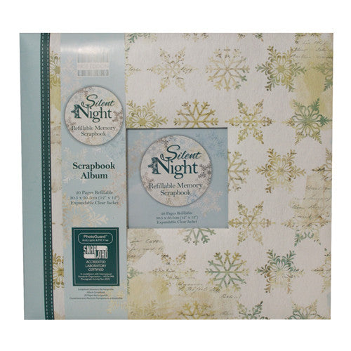 First Edition Silent Night Scrapbook Album