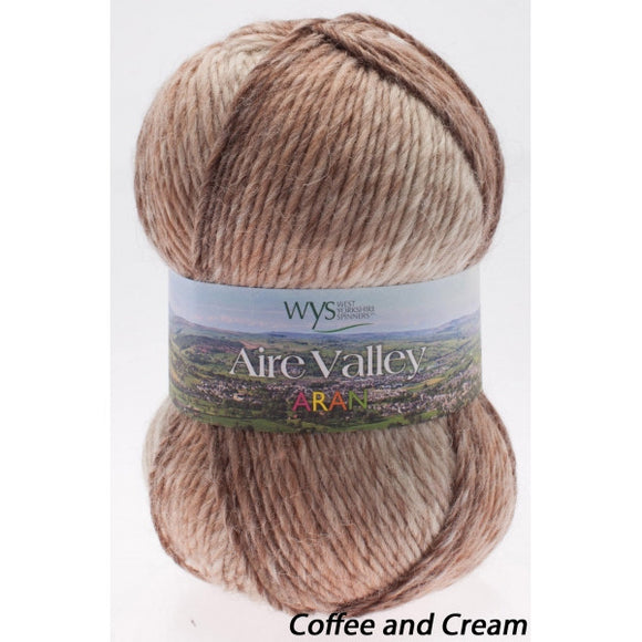 West Yorkshire Spinners: Aire Valley Aran Fusions
