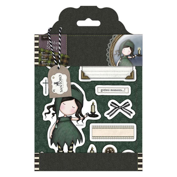 Rubber Stamps - Santoro Tweed - Nightlight