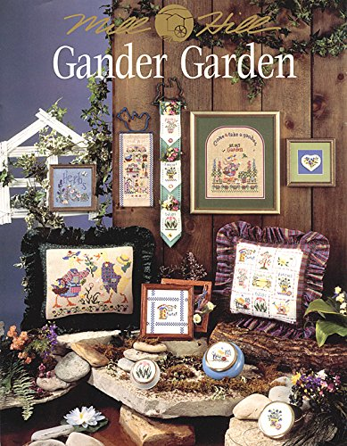 Gander Garden Cross Stitch Booklet by Mill Hill