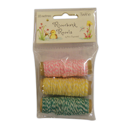 Riverbank Revels by Helz Cuppleditch Twine Spool