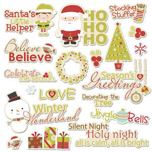 Imaginisce Seasons Greetings Word Die Cut