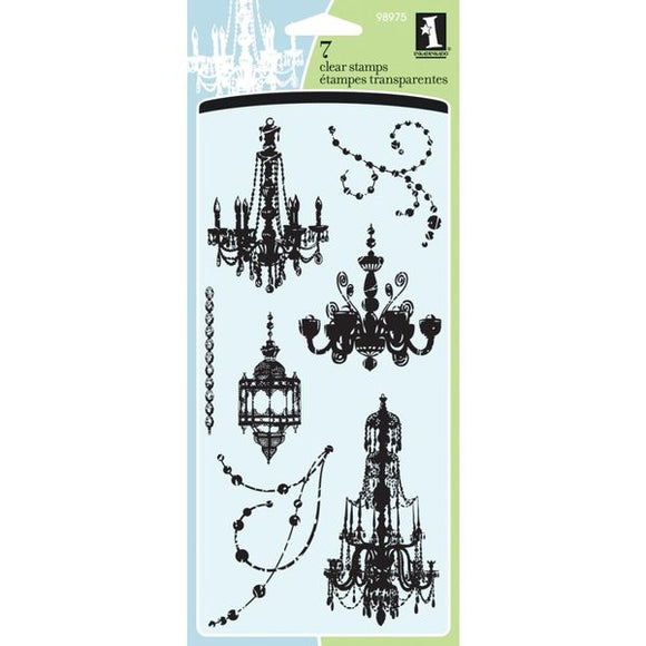 Inkadinkado Clear Stamps - Chandeliers