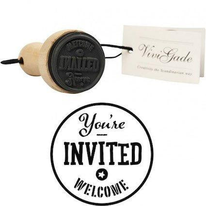 Wood Mounted Rubber Stamps - Viva Gade by Creativ Company