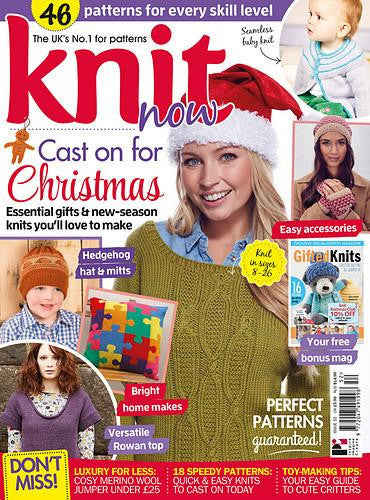 Knit Now Magazine Back Issues