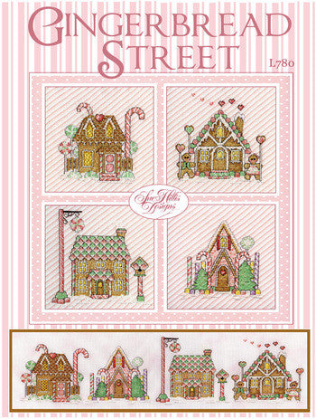 Gingerbread Street Cross Stitch Chart