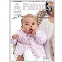 Patons 100% Cotton 4ply Leaflet
