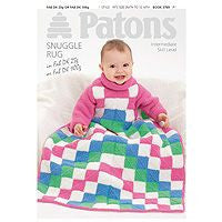 Patons Baby Snuggle Rug Leaflet