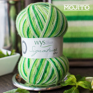 West Yorkshire Spinners: Signature 4 Ply Cocktails