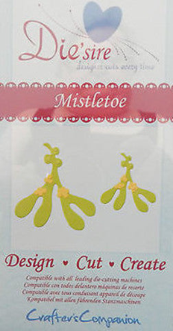 Die'Sire Mistletoe Die from Crafter's Companion