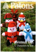 Patons Knitting Pattern Book 3932  - DK Christmas Toys