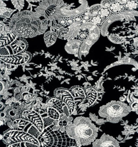 Decopatch Paper - Black and White Lace