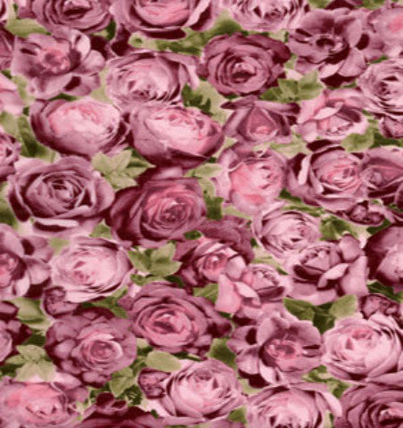Decopatch Paper - Pink Damask Rose
