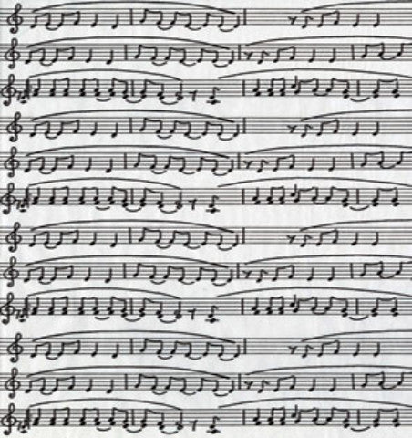 Decopatch Paper - Musical Notes