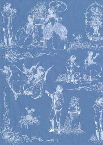 Decopatch Paper - Vintage Blue