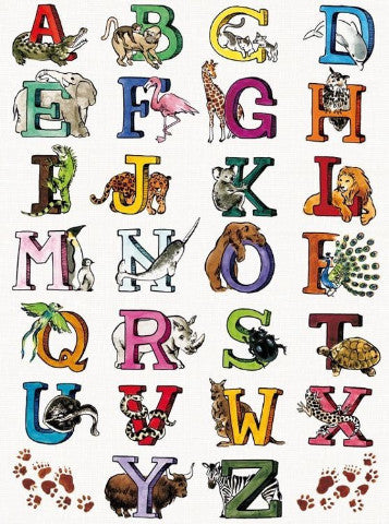 Decopatch Paper - Animal Alphabet
