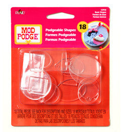 Mod Podge Podgeable Shapes
