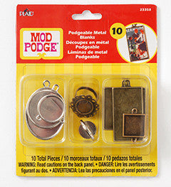 Mod Podge Podgeable Metal Blanks